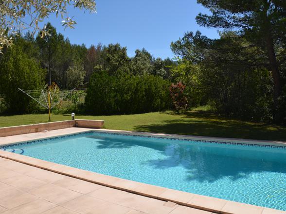 vakantiehuis van Vlamingen, Belgen te huur in de Provence met privé zwembad