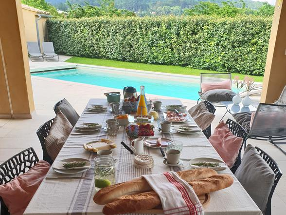 vakantie Provence, woning huren met verwarmd privé zwembad aan de Mont Ventoux