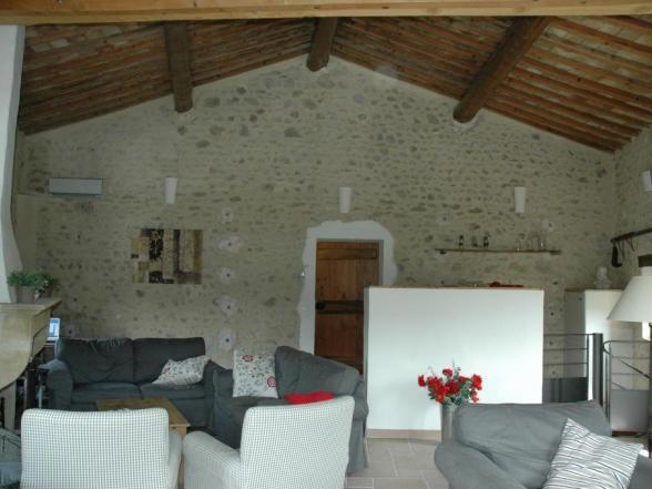 vakantiehuis voor 10 personen huren aan de voet van de mont Ventoux