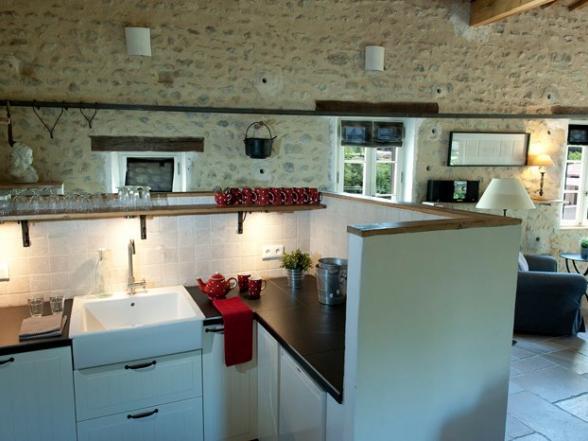 vakantiehuis voor 10 personen met 2 keukens te huur in de Provence