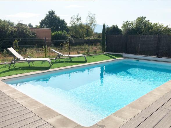 nieuwe villa huren met airco en verwarmd zwembad vakantie provence, mont ventoux