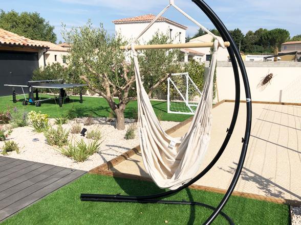 luxe vakantie in de Provence, Zuid-Frankrijk, villa huren met airco op wandelafstand van Vaison la Romaine