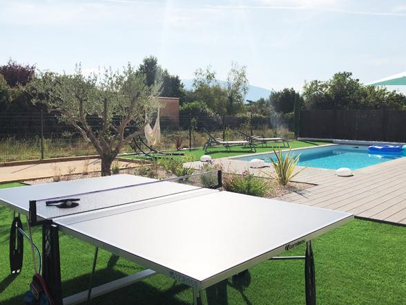 villa van Belgen te huur in de Provence voor 8 personen met airco en verwarmd privé zwembad