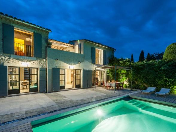 magnificent villa in the heart of Bonnieux (Luberon)