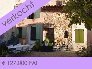 aankoop dorpshuis met tuin in de Provence, regio Mont Ventoux en Luberon