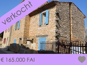 dorpswoning te koop in de Provence met tuin en prachtig zicht op de Mont Ventoux