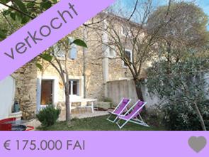 mooie dorpswoning met tuintje kopen in Zuid-Frankrijk, Provence aan de Mont Ventoux