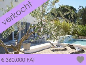 nieuwbouw villa kopen in Zuid-Frankrijk, Provence met zwembad en prachtig zicht op de Mont Ventoux