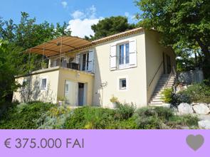 ankoop mooie, moderne villa op een terrein van 2.200 m² met panoramisch uitzicht over de Luberon