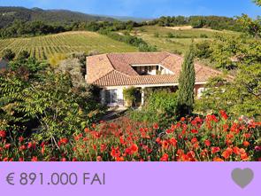 grote villa met zwembad kopen, ideaal voor uitbating restaurant, hotel, gîtes, chambre d'hôtes