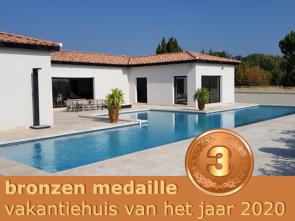 nieuwbouw villa met airco en verwarmd zwembad huren in zuid-frankrijk, regio Provence, Aubignan