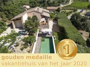vakantie in de Provence, villa huren met verwarmd zwembad voor 8 personen met prachtig zicht op de Mont Ventoux