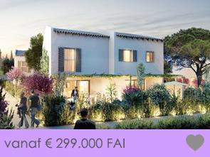 nieuwbouwproject, villa met drie slaapkamers aan de Middellandse Zee op wandelafstand van het strand