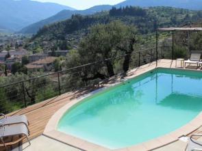 luxe vakantie villa in de Drôme Provençale met verwarmd zwembad