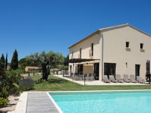 vakantie Provence, villa huren voor 8 personen met airco en verwarmd zwembad in Bédoin aan de Mont Ventoux