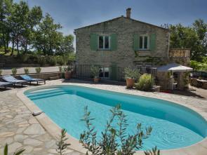 luxe villa van Vlamingen / Belgen met privé zwembad te huur in de Provence in de Alpes de Haute Provence