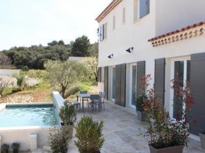 nieuwe vakantievilla te huur in Blauvac voor 6 personen (Provence) met prachtig zicht op de Mont Ventoux