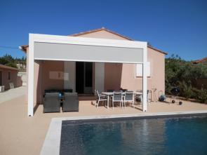 vakantiehuis provence huren met airco, verwarmd zwembad en zicht op de mont ventoux zwembad vakantie Provence