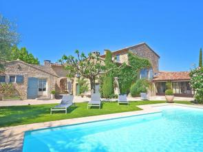 luxe vakantievilla te huur in de Luberon (Provence) met verwarmd zwembad