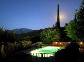 vakantiehuis huren in de Provence met zicht op de Mont Ventoux verhuur