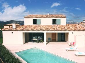 luxe vakantievilla huren in de Provence aan de Mont Ventoux, Malaucène, Bédoin voor 10 personen met airco en verwarmd zwembad