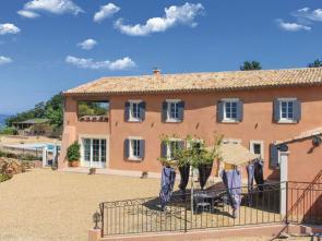 vakantiewoning te huur in de Provence, Zuid-Frankrijk, met panoramisch uitzicht, verwarmd zwembad en buitenkeuken
