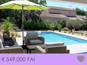 moderne villa kopen in de Provence met zwembad, poolhouse en buitenkeuken regio Luberon, Gordes, Mont Ventoux
