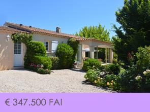 huis kopen in Mormoiron aan de Mont Ventoux met 3 slaapkamers en 2 badkamers