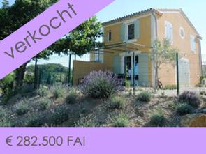 huisje tussen de wijngaarden te koop in Rasteau, aan de voet van de Mont Ventoux in de Provence, Zuid-Frankrijk