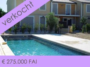huisje tussen de wijngaarden te koop, aan de voet van de Mont Ventoux in de Provence, Zuid-Frankrijk
