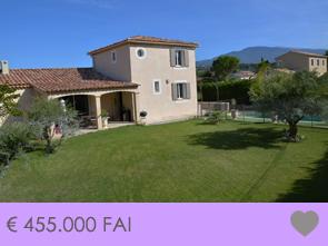 nieuwbouw villa met zwembad en zicht op de Mont Ventoux kopen in zuid-frankrijk, regio Provence, Venasque