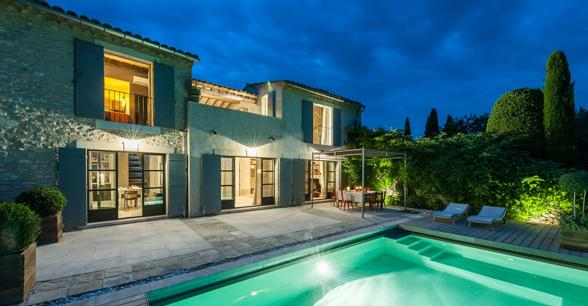 luxe vakantievilla's in de Provence te huur